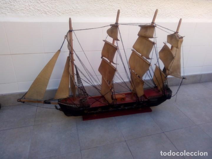 Radio Control: Gran barco velero cuatro mastiles - Foto 6 - 164976582