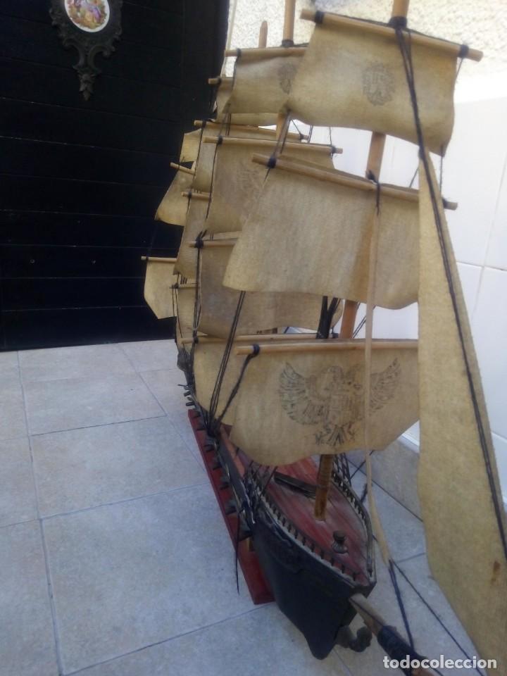 Radio Control: Gran barco velero cuatro mastiles - Foto 19 - 164976582