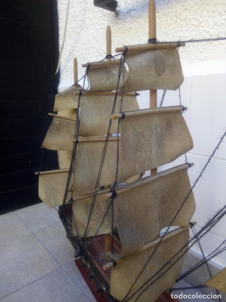 Radio Control: Gran barco velero cuatro mastiles - Foto 24 - 164976582