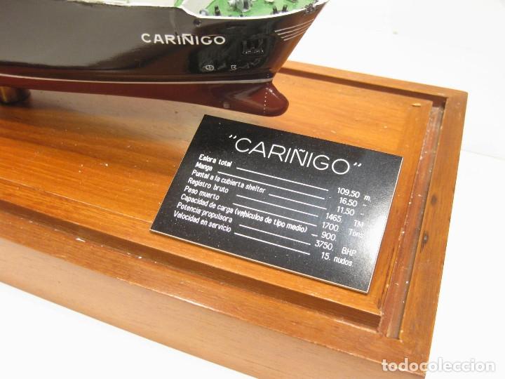 Radio Control: MAQUETA DE LOS ASTILLEROS DEL BUQUE DE CARGA CARIÑIGO INTERROL - MODELOS NAVALES RIERA - Foto 2 - 222705878