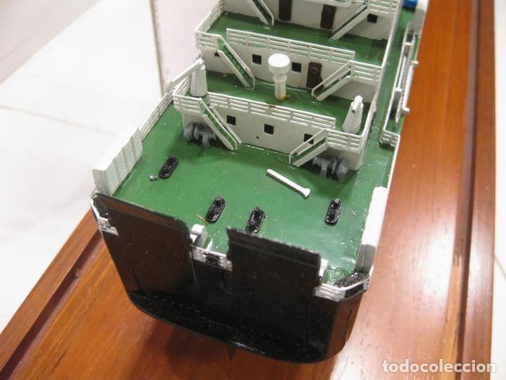 Radio Control: MAQUETA DE LOS ASTILLEROS DEL BUQUE DE CARGA CARIÑIGO INTERROL - MODELOS NAVALES RIERA - Foto 7 - 222705878