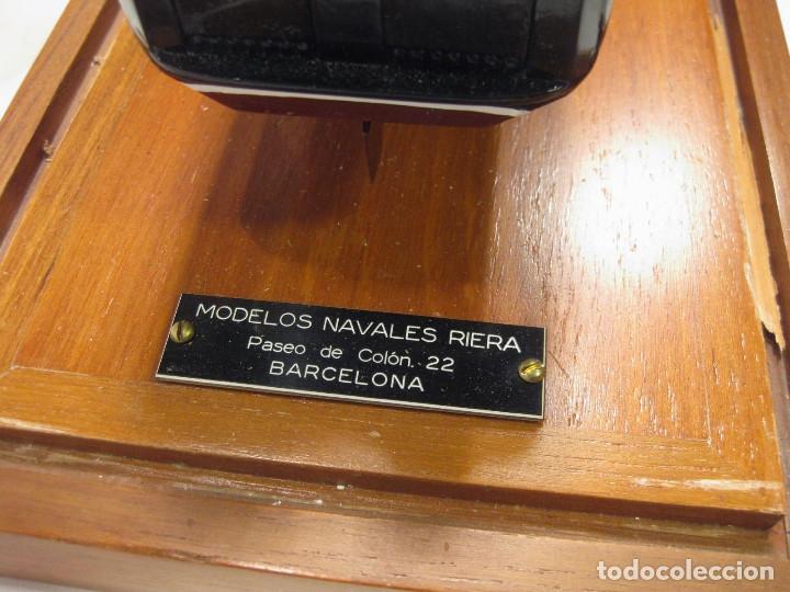 Radio Control: MAQUETA DE LOS ASTILLEROS DEL BUQUE DE CARGA CARIÑIGO INTERROL - MODELOS NAVALES RIERA - Foto 8 - 222705878