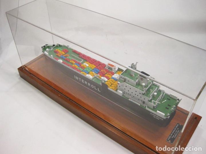 Radio Control: MAQUETA DE LOS ASTILLEROS DEL BUQUE DE CARGA CARIÑIGO INTERROL - MODELOS NAVALES RIERA - Foto 11 - 222705878
