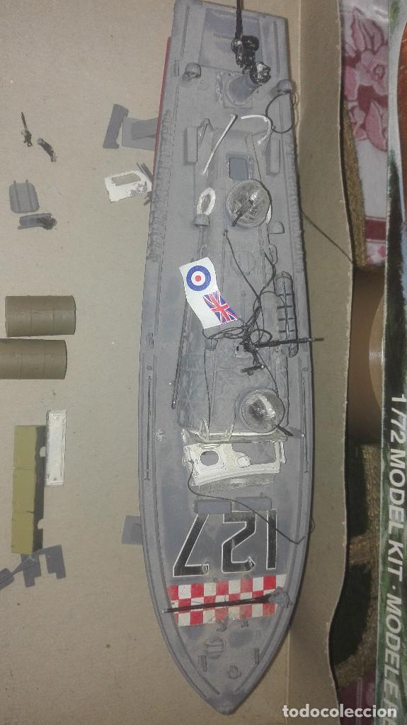 Radio Control: Maqueta antigua de lancha de rescate RAF. airfix 1/72 - Foto 2 - 169969162