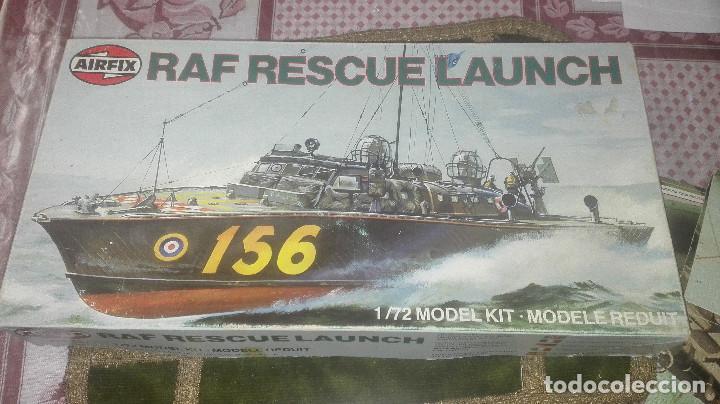 Radio Control: Maqueta antigua de lancha de rescate RAF. airfix 1/72 - Foto 4 - 169969162