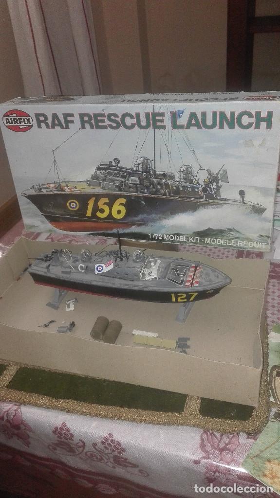MAQUETA ANTIGUA DE LANCHA DE RESCATE RAF. AIRFIX 1/72 (Juguetes - Modelismo y Radiocontrol - Radiocontrol - Barcos)