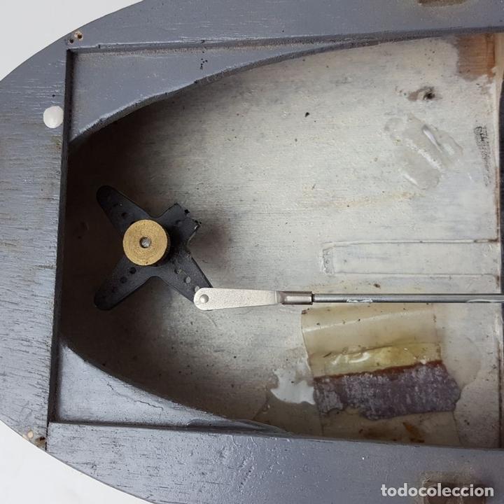 Radio Control: MAQUETA DE RADIO CONTROL. DESTRUCTOR FRANCÉS. MADERA Y RESINA PINTADA A MANO. ESPAÑA. SIGLO XX. - Foto 20 - 169984128