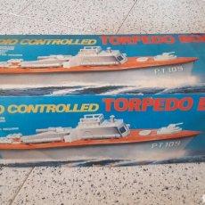Radio Control: TORPEDO BOAT PT 109 RADIO CONTROLLED. Lote 174322128