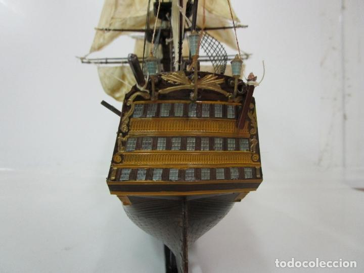 Radio Control: Antigua Maqueta de Barco - Velero, Fragata - Plástico - Foto 10 - 179962410
