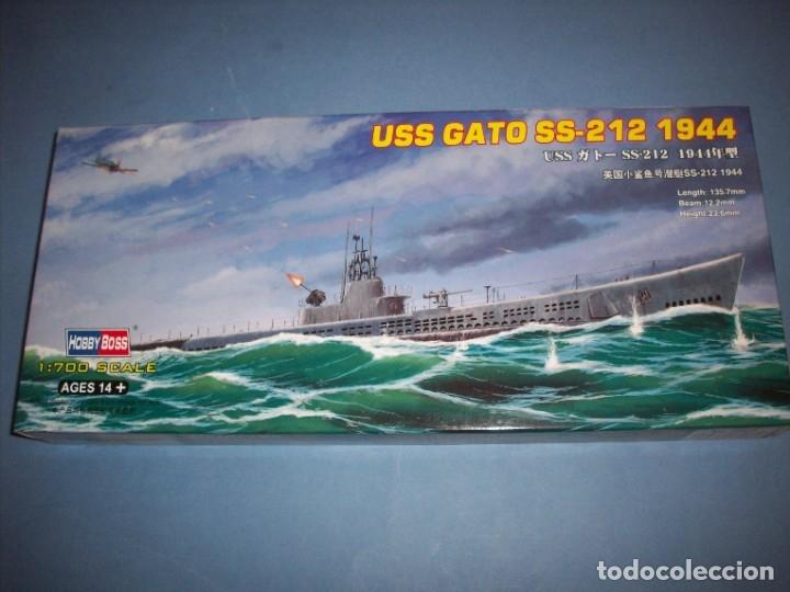 USS GATO SS-212 1944 (Juguetes - Modelismo y Radiocontrol - Radiocontrol - Barcos)