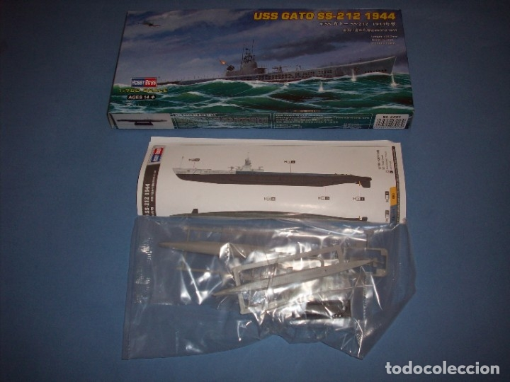 Radio Control: uss gato ss-212 1944 - Foto 3 - 182769807