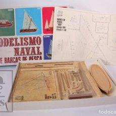 Radio Control: MAQUETA DE MODELISMO NAVAL - BOU. SERIE BARCAS DE PESCA - REF. 104 - ART AMB FUSTA. Lote 185701212