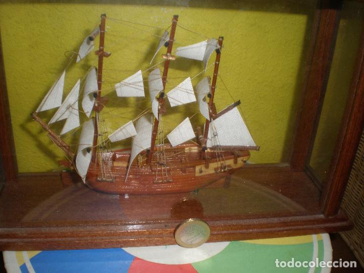 Radio Control: MAQUETA DE BARCO H.M.S BOUNTY 1787,EN URNA. - Foto 6 - 191286332