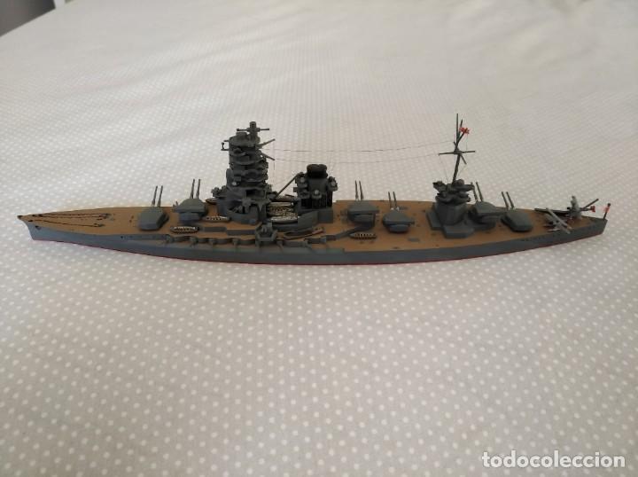 Radio Control: 1/700 HASEGAWA, TAMIYA ACORAZADO JAPONES II GUERRA MUNDIAL PINTADO EN ALTA CALIDAD - Foto 4 - 193995356