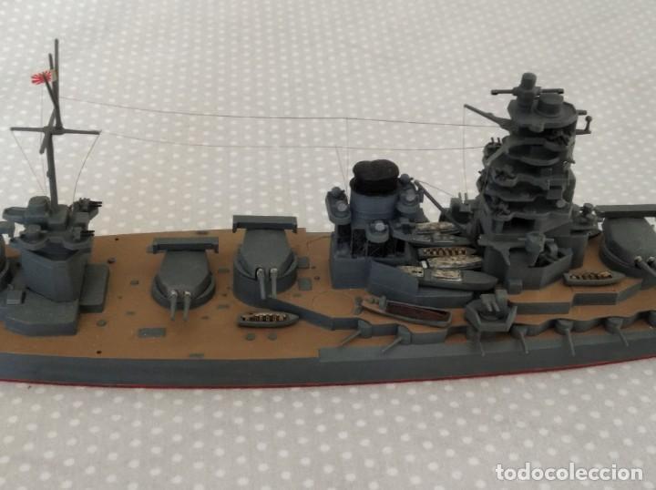 Radio Control: 1/700 HASEGAWA, TAMIYA ACORAZADO JAPONES II GUERRA MUNDIAL PINTADO EN ALTA CALIDAD - Foto 8 - 193995356