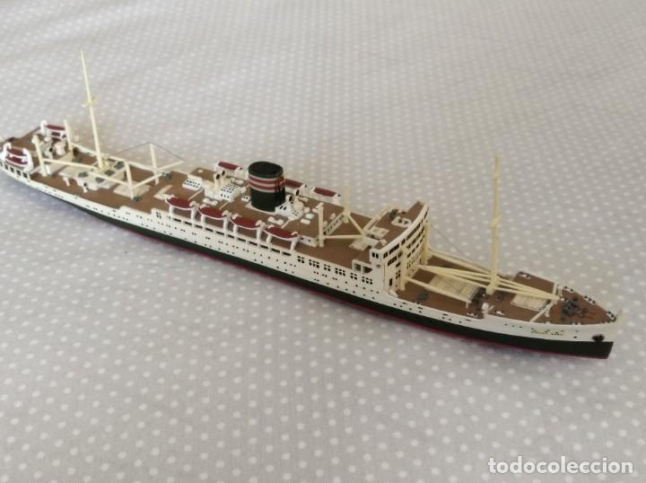 1/700 HASEGAWA MERCANTE JAPONES II GUERRA MUNDIAL PINTADO EN ALTA CALIDAD (Juguetes - Modelismo y Radiocontrol - Radiocontrol - Barcos)