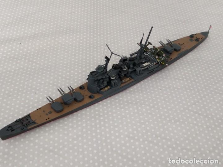 Radio Control: 1/700 HASEGAWA o TAMIYA CRUCERO PESADO JAPONES II GUERRA MUNDIAL PINTADO EN ALTA CALIDAD - Foto 2 - 194000150