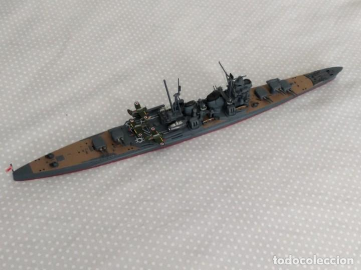 Radio Control: 1/700 HASEGAWA o TAMIYA CRUCERO PESADO JAPONES II GUERRA MUNDIAL PINTADO EN ALTA CALIDAD - Foto 4 - 194000150