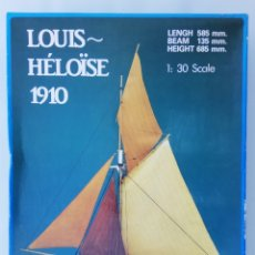 Radio Control: KIT MODELISMO - BARCO LOUIS ~ HÉLÖISE 1910 - ARKIT - SIN ESTRENAR - RF. PJRB. Lote 194154330