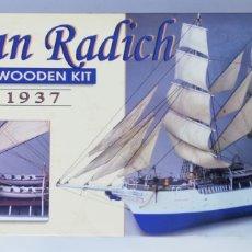 Radio Control: KIT MODELISMO - BARCO CHRISTIAN RADICH - CONSTRUCTO - SIN ESTRENAR - RF. PJRB. Lote 194163028