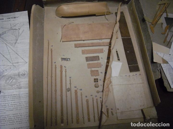 Radio Control: ANTIGUA BOMBARDA VICTORIA,CONSTRUCTO AÑOS 30, CAJA MAL ESTADO, VACIADO CASA , VER COMENTARIOS - Foto 3 - 197228481
