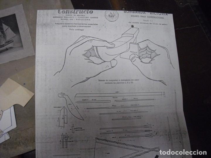 Radio Control: ANTIGUA BOMBARDA VICTORIA,CONSTRUCTO AÑOS 30, CAJA MAL ESTADO, VACIADO CASA , VER COMENTARIOS - Foto 5 - 197228481