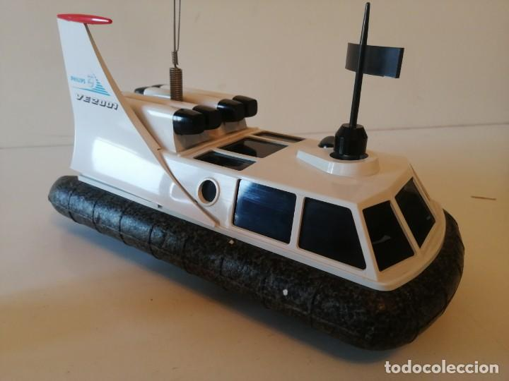 Radio Control: Antiguo barco dirigido - Philips Hovercraft VE-2001 - Foto 1 - 203404371