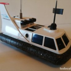 Radio Control: ANTIGUO BARCO DIRIGIDO - PHILIPS HOVERCRAFT VE-2001. Lote 203404371
