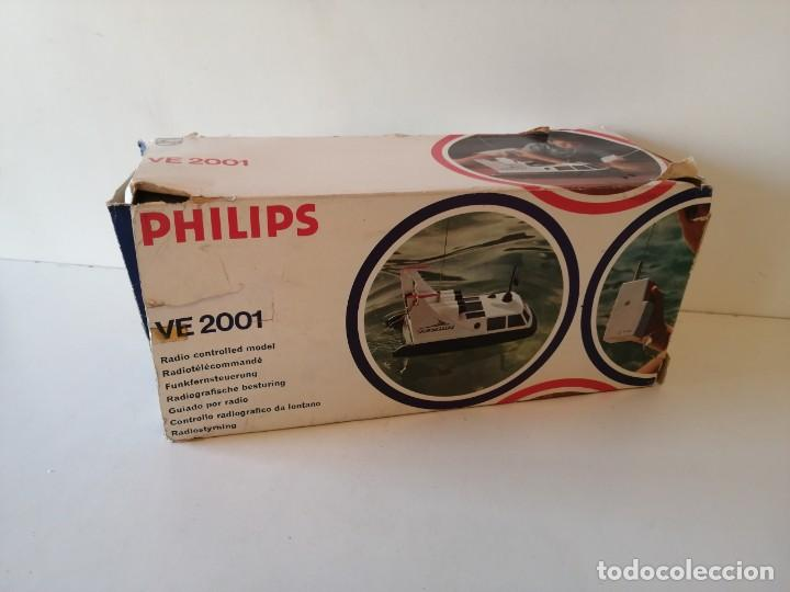 Radio Control: Antiguo barco dirigido - Philips Hovercraft VE-2001 - Foto 2 - 203404371