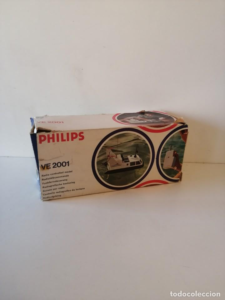 Radio Control: Antiguo barco dirigido - Philips Hovercraft VE-2001 - Foto 3 - 203404371