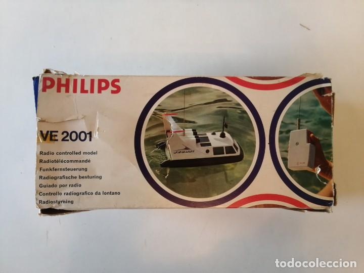 Radio Control: Antiguo barco dirigido - Philips Hovercraft VE-2001 - Foto 4 - 203404371