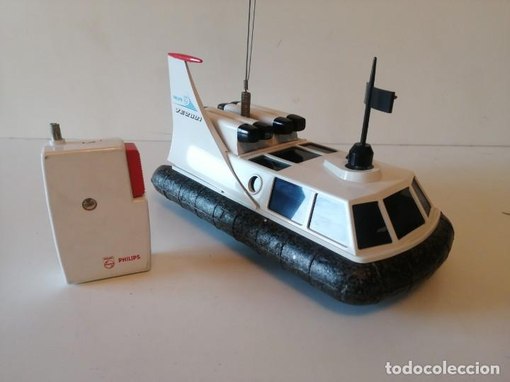 Radio Control: Antiguo barco dirigido - Philips Hovercraft VE-2001 - Foto 11 - 203404371