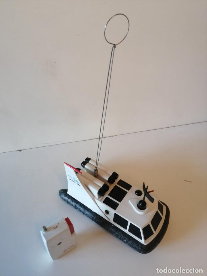 Radio Control: Antiguo barco dirigido - Philips Hovercraft VE-2001 - Foto 12 - 203404371