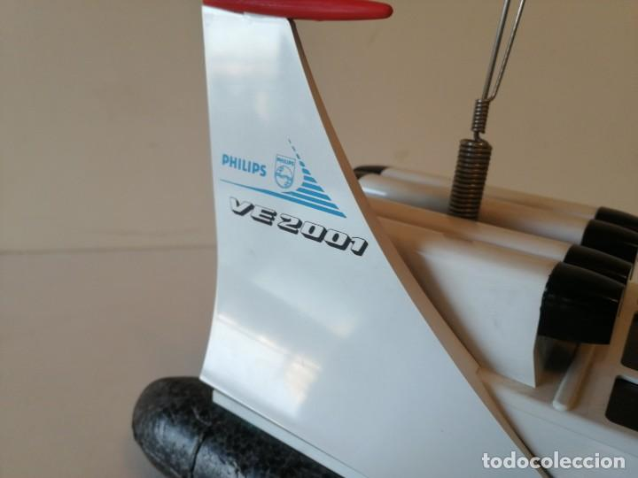 Radio Control: Antiguo barco dirigido - Philips Hovercraft VE-2001 - Foto 13 - 203404371