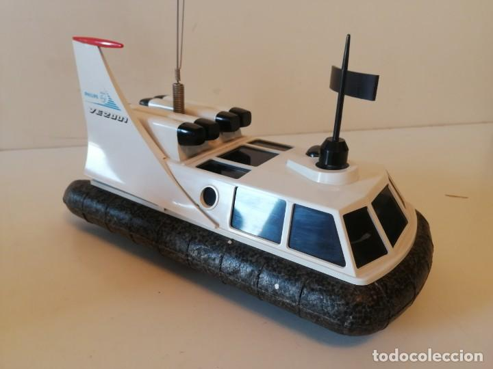 Radio Control: Antiguo barco dirigido - Philips Hovercraft VE-2001 - Foto 14 - 203404371