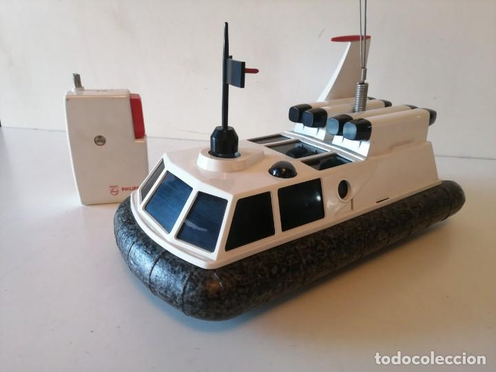 Radio Control: Antiguo barco dirigido - Philips Hovercraft VE-2001 - Foto 15 - 203404371