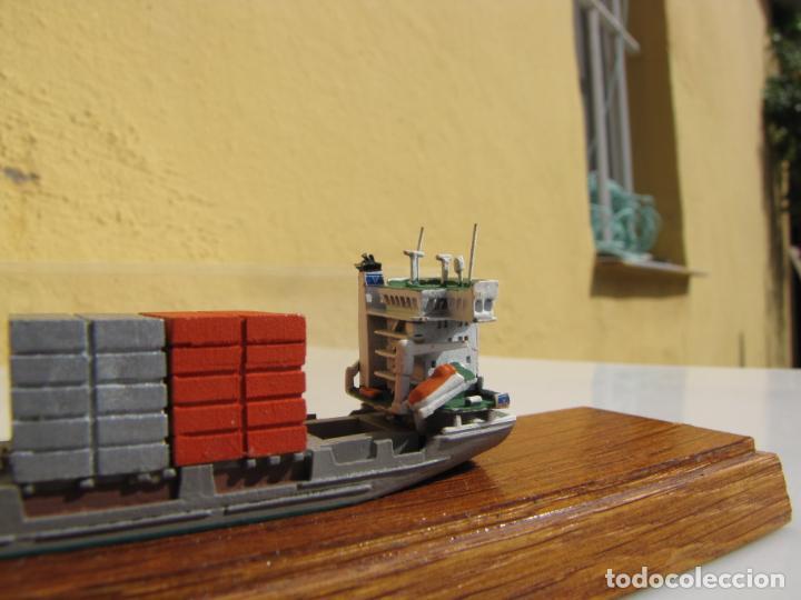 Radio Control: 3- Maqueta de barco J.J.SIETAS KG portacontenedores Conrad Schiffsmodelle. Alemania - Foto 6 - 204594397