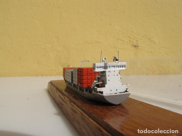 Radio Control: 3- Maqueta de barco J.J.SIETAS KG portacontenedores Conrad Schiffsmodelle. Alemania - Foto 7 - 204594397