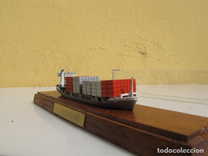 Radio Control: 3- Maqueta de barco J.J.SIETAS KG portacontenedores Conrad Schiffsmodelle. Alemania - Foto 8 - 204594397