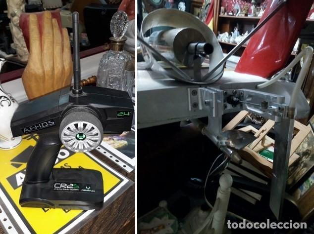 Radio Control: LANCHA R/C..Turbo.125 x 62 centimetros. Gran tamaño. ( OJO ).Motor gasolina de 56 cm3.Competicion. - Foto 13 - 208857055