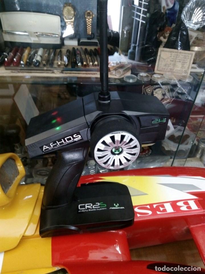 Radio Control: LANCHA R/C..Turbo.125 x 62 centimetros. Gran tamaño. ( OJO ).Motor gasolina de 56 cm3.Competicion. - Foto 10 - 208857055