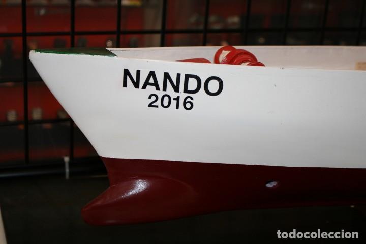 Radio Control: Buque de Carga de modelismo naval artesano - Foto 2 - 216591593