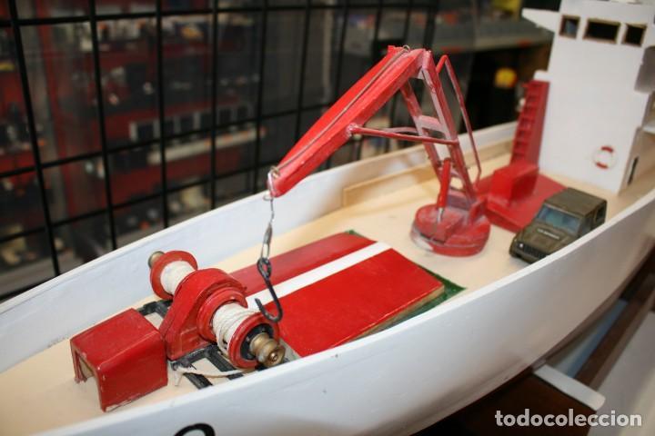 Radio Control: Buque de Carga de modelismo naval artesano - Foto 4 - 216591593