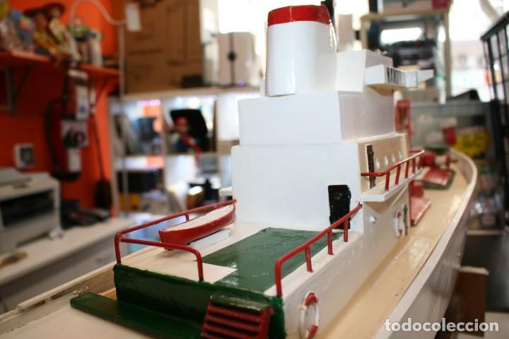 Radio Control: Buque de Carga de modelismo naval artesano - Foto 7 - 216591593
