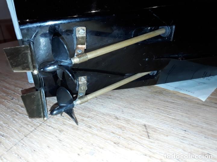 Radio Control: Lancha R.A.F. Twin Screw Crash Tender años 60, G & R, England, funcionando. - Foto 18 - 222487496