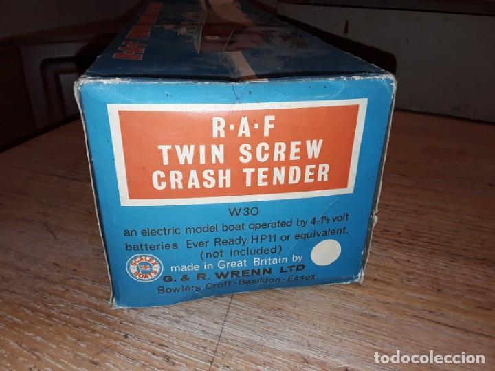 Radio Control: Lancha R.A.F. Twin Screw Crash Tender años 60, G & R, England, funcionando. - Foto 25 - 222487496