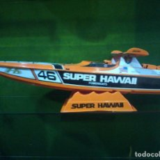Radio Control: GRAN LANCHA SUPER HAWAII POWERBOATS IN MEMORY STEFANO CASIRAGI. Lote 229964560