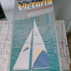 Radio Control: THUNDER TIGER VICTORIA VELERO VICTORIA NO 5556 RADIO CONTROLLED SAILING YACHT. Lote 242822950