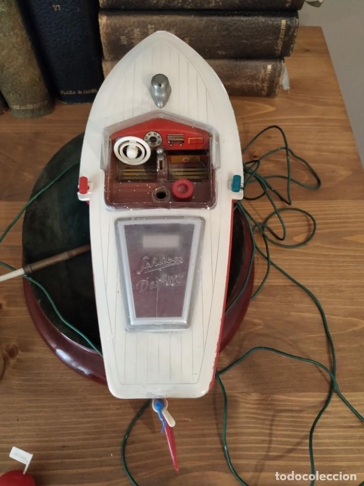 Radio Control: SCHUCO-Electro Ingenico Delfino 5411- made in W. Germany- años 60. - Foto 10 - 255407310