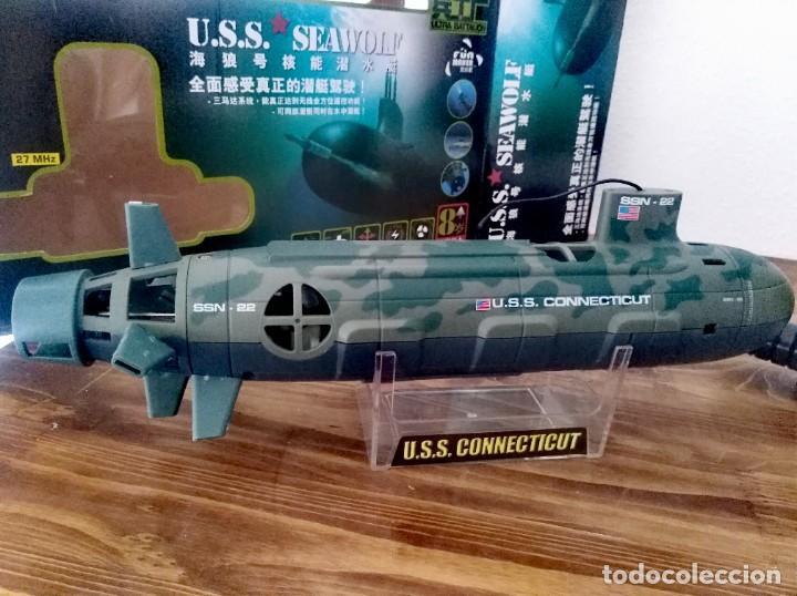 Radio Control: Submarino Nuclear 6 canales 35cm Radio control maqueta guerra modelismos maqueta militar - Foto 2 - 262145065